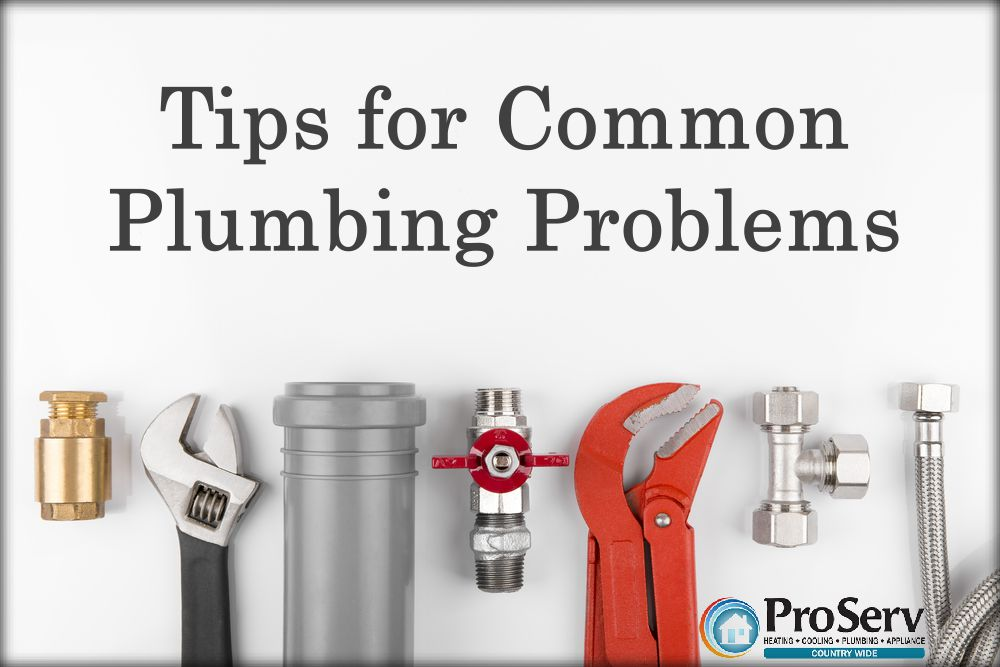 tipsforcommonplumbingproblems