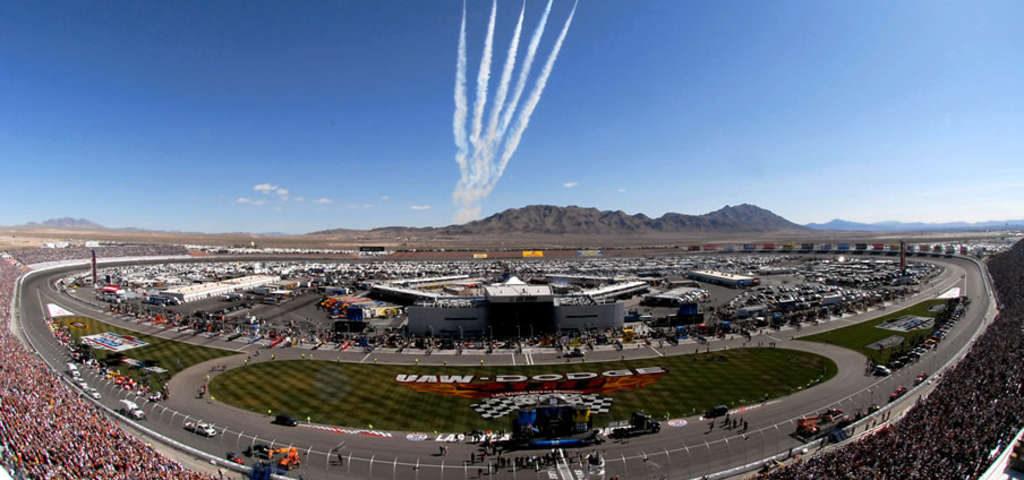 The Motor Speedway in Las Vegas, Nevada.