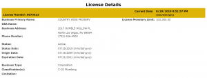 license for ProServ