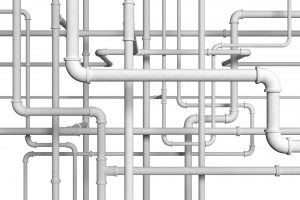 white pipes